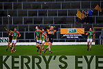 Austin Stacks in action against  Mid Kerry in the Kerry Senior County Football Final at Fitzgerald Stadium on Sunday.