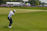 Dylan Frittelli (RSA) chips on 11 during 4th round of the 100th PGA Championship at Bellerive Country Club, St. Louis, Missouri. 8/12/2018.<br /> Picture: Golffile   Ken Murray<br /> <br /> All photo usage must carry mandatory copyright credit (© Golffile   Ken Murray)