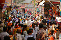 Every day 15 milion pilgrims approach Ganga river for KumbH Mela in Haridwar India