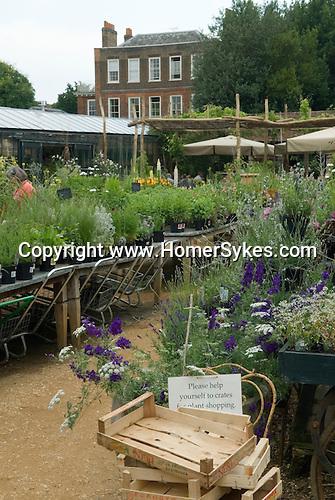 Petersham Nurseries  restaurant cafe. Richmond Surrey UK