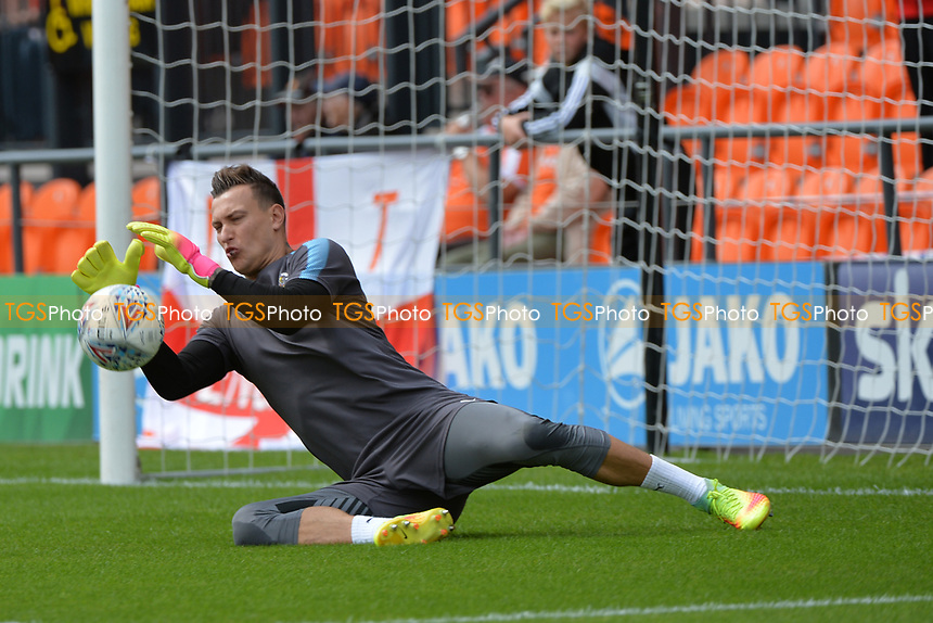Marek stech of Luton Town during Barnet vs Luton Town, Sky Bet EFL League 2 Football at the Hive Stadium on 12th August 2017