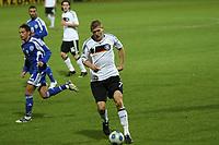 Kevin Schindler (D)<br /> U21 Deutschland vs. Israel *** Local Caption *** Foto ist honorarpflichtig! zzgl. gesetzl. MwSt. Auf Anfrage in hoeherer Qualitaet/Aufloesung. Belegexemplar an: Marc Schueler, Alte Weinstrasse 1, 61352 Bad Homburg, Tel. +49 (0) 151 11 65 49 88, www.gameday-mediaservices.de. Email: marc.schueler@gameday-mediaservices.de, Bankverbindung: Volksbank Bergstrasse, Kto.: 151297, BLZ: 50960101