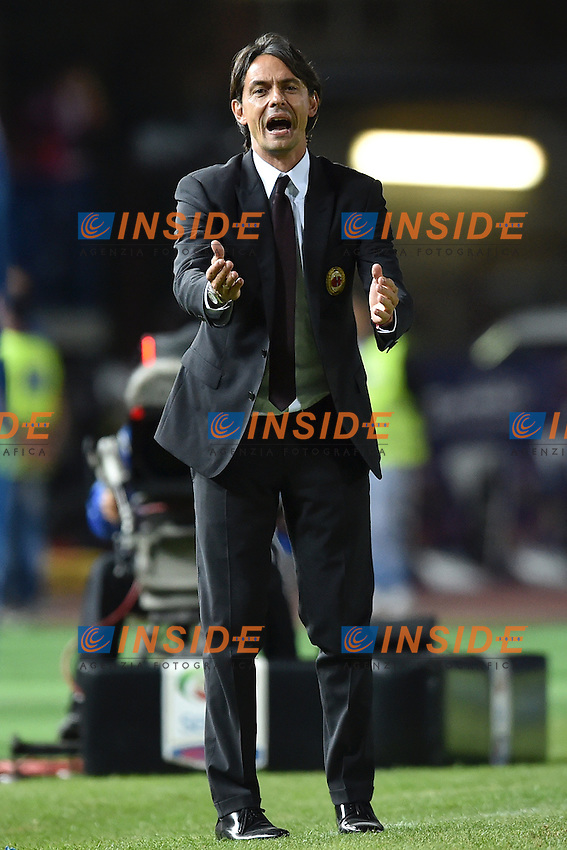 Filippo Inzaghi Milan <br /> Empoli 23-09-2014 Stadio Castellani, Football Calcio Serie A Empoli - Milan. Foto Andrea Staccioli / Insidefoto