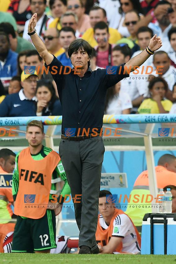 Joachim Loew Germany <br /> Rio de Janeiro (Brasile) 04-07-2014 Maracana Quarter-Finals / Quarti di finale France - Germany / Francia - Germania. Football 2014 Fifa World Cup Brazil - Campionato del Mondo di Calcio  Brasile 2014 <br /> Foto Insidefoto