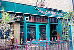 Exterior, Archipeligo Restaurant, London, city, England, UK, United Kingdom, Great Britain, Europe, European