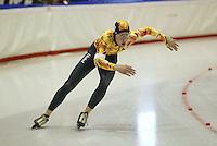 SCHAATSEN: HEERENVEEN: IJsstadion Thialf, 13-03-2004, VikingRace, Hubert Hirschbichler (GER), ©foto Martin de Jong