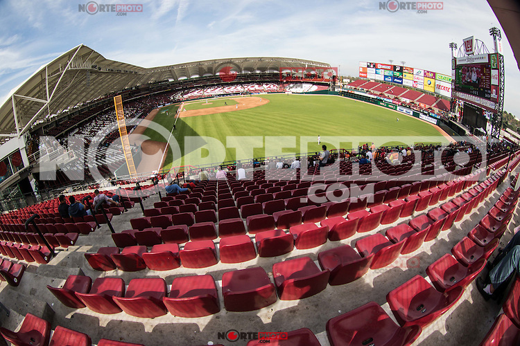 Diamante de terreno de juego, durante el partido de beisbol de la Serie del Caribe entre Republica Dominicana vs Puerto Rico en el Nuevo Estadio de los Tomateros en Culiacan, Mexico, Sabado 4 Feb 2017. Foto: Luis Gutierrez/NortePhoto.com<br /> <br /> Actions, during the Caribbean Series baseball match between Dominican Republic vs Puerto Rico at the New Tomateros Stadium in Culiacan, Mexico, Saturday 4 Feb 2017. Photo: Luis Gutierrez / NortePhoto.com