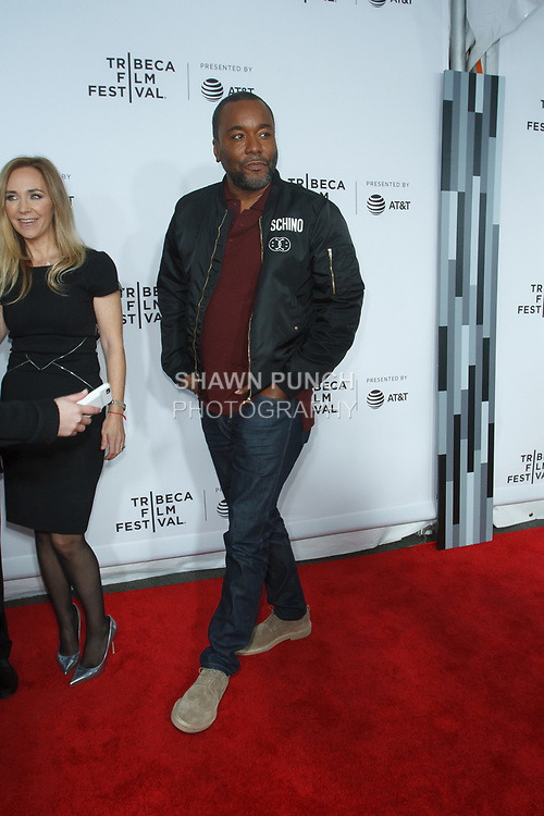 """Lee Daniels arrives at the Clive Davis: """"The Soundtrack Of Our Lives"""" world premiere for the Opening Night of the 2017 TriBeCa Film Festival on April 19, 2017 at Radio City Music Hall."""