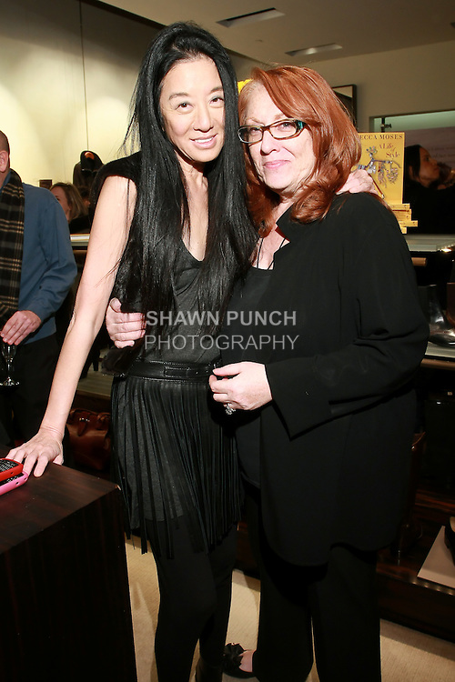 """Vera Wang at the Rebecca Moses """"A Life of Style"""" book signing at Fratelli Rossetti Boutique, November 11, 2010."""