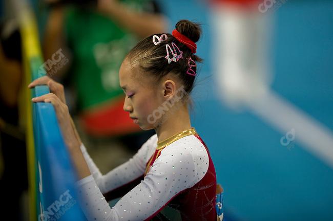 Yilin Yang (China) - bronze, Women's Gymnastics Individual All-Around final, National Stadium, Summer Olympics, Beijing, China, August 15, 2008