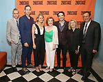 Bruce Norris, Stephen Kunken, Celia Keenan-Bolger, Anita Gillette, Juan Castano, Carole Rothman and Michael Greif attend the Opening Night Party for 'A Parallelogram'  on August 2, 2017 at Havana Central in New York City.