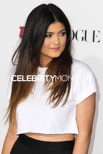 "LOS ANGELES, CA - DECEMBER 18: Kylie Jenner arrives at the World Premiere Of Open Road Films' ""Justin Bieber's Believe"" held at Regal Cinemas L.A. Live on December 18, 2013 in Los Angeles, California. (Photo by Xavier Collin/Celebrity Monitor)"