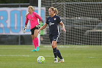 Piscataway, NJ - Saturday Aug. 27, 2016: Christie Rampone during a regular season National Women's Soccer League (NWSL) match between Sky Blue FC and the Chicago Red Stars at Yurcak Field.