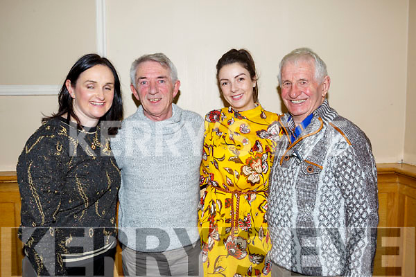 Susanne Ennis, Derry Fleming, Una Brosnan and Tom Lawlor of the Tralee Credit Union attending the annual Noreen Lynch Credit Union Quiz in the Brandon Hotel on Sunday last.