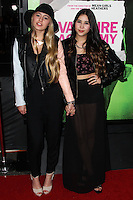 "LOS ANGELES, CA - FEBRUARY 04: Lia Marie Johnson, Charisma Kain at the Los Angeles Premiere Of The Weinstein Company's ""Vampire Academy"" held at Regal Cinemas L.A. Live on February 4, 2014 in Los Angeles, California. (Photo by Xavier Collin/Celebrity Monitor)"