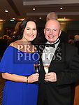 Anthony and Georgina Coscoran at the Drogheda Business Excellence Awards in City North Hotel. Photo:Colin Bell/pressphotos.ie