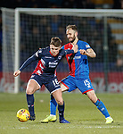 11.02.2019: Ross County v Inverness CT: Lewis Spence and Sean Welsh