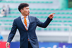 Jeju United Head Coach Cho Sung Hwan gestures during the AFC Champions League 2017 Round of 16 match between Jeju United FC (KOR) vs Urawa Red Diamonds (JPN) at the Jeju Sports Complex on 24 May 2017 in Jeju, South Korea. Photo by Yu Chun Christopher Wong / Power Sport Images