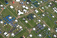 The 22nd World Scout Jamboree photographed from an airplane on the arrival day of the participants. Over 39.000 scouts from over 150 countries meet together in peace to make new friends and a better World. Photo: Eric Hampusgård/Scouterna