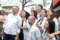 SÃO PAULO - 19.11.2015 - HADDAD-SP - O prefeito Fernando Haddad e o secretario municipal de saúde, Alexandre Padilha visitam a Casa de Parto da Associação Comunitária Monte Azul na zona sul de São Paulo na manhã desta quinta-feira (19). (Foto: Fabricio Bomjardim / Brazil Photo Press)