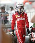 06.10.2018, Suzuka International Racing Course, Suzuka, Formula 1 2018 Honda Japanese Grand Prix<br />  , im Bild<br />Sebastian Vettel (GER#5), Scuderia Ferrari im Regen<br /><br /><br /> <br /> <br /> Foto &copy; nordphoto / Bratic