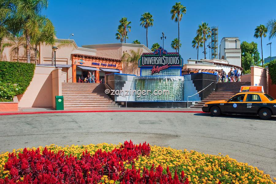 Universal Studios, Hollywood Waterfall, Universal City, CA, holiday,  travel, us, usa, vacation,