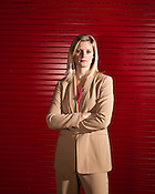 November 23, 2009. Raleigh, North Carolina.. NC State women;s basketball head coach Kellie Harper.. Harper has taken over the program after the death of Kay Yow from a long battle with cancer.