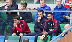 Lee Wallace looking on