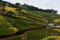 Camanducaia_MG, Brasil...Fazenda em Camanducaia...A farm in Camanducaia...Foto: LEO DRUMOND / NITRO.....