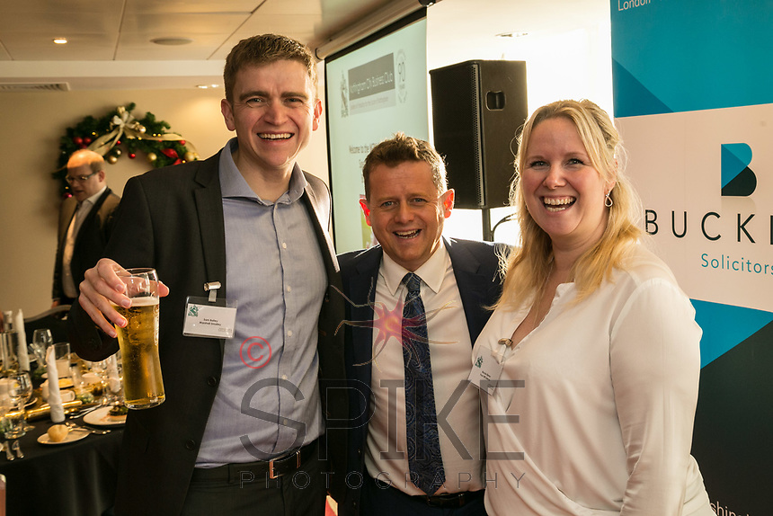 Sam Bailey of Marshall Smalley, Mike Bushell and Nickie Elenor of Your HR Lawyer