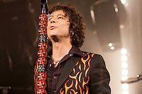 Enrique Bunbury performing  at La Riviera in Madrid in 2012