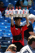 May 26, 2008:  A vendor for the Toronto Blue Jays during a game at the Rogers Centre in Toronto, Ontario, Canada .  Photo by:  Mike Janes/Four Seam Images