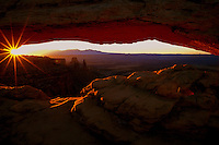 Sunrise at Mesa Arch, Canyonlands  #L12