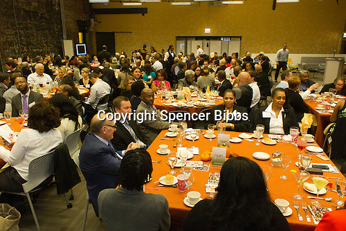 The Hyde Park Chamber of Commerce held its 76th Annual Dinner and Awards Ceremony Wednesday evening at the Center for Innovation Exchange located at 1452 E. 53rd Street.<br /> <br /> Please 'Like' &quot;Spencer Bibbs Photography&quot; on Facebook.<br /> <br /> All rights to this photo are owned by Spencer Bibbs of Spencer Bibbs Photography and may only be used in any way shape or form, whole or in part with written permission by the owner of the photo, Spencer Bibbs.<br /> <br /> For all of your photography needs, please contact Spencer Bibbs at 773-895-4744. I can also be reached in the following ways:<br /> <br /> Website &ndash; www.spbdigitalconcepts.photoshelter.com<br /> <br /> Text - Text &ldquo;Spencer Bibbs&rdquo; to 72727<br /> <br /> Email &ndash; spencerbibbsphotography@yahoo.com