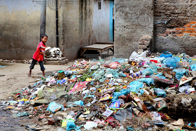 The living environment of the Geneva camp is unhealthy, dirty, damp and unhygienic. The municipalities/city cleaners never enter the camps to clear the garbage. The camp authorities are neither able nor serious to maintain a healthy sanitation facility. The drainage system is extremely poor, which causes water logging easily. Therefore, transmittable diseases especially diarrhea and dengue are very common.