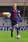 UEFA Women's Champions League 2017/2018.<br /> Round of 16.<br /> FC Barcelona vs Gintra Universitetas: 3-0.<br /> Line Reddik.