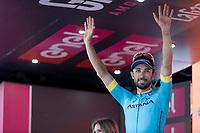 Dario Cataldo (ITA/Astana) wins Stage 15: Ivrea to Como (232km)<br /> 102nd Giro d'Italia 2019<br /> <br /> ©kramon