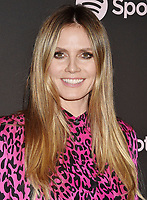 LOS ANGELES, CA - FEBRUARY 07: Heidi Klum attends Spotify's Best New Artist Party at the Hammer Museum on February 07, 2019 in Los Angeles, California.<br /> CAP/ROT/TM<br /> ©TM/ROT/Capital Pictures