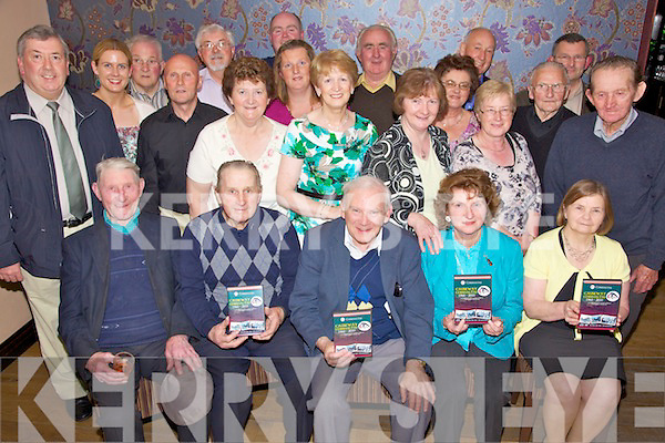 Golden Celebrations - Members of the Causeway Comhaltas pictured at the launch of their DVD celebrating their 50th anniversary in The Keg Bar, Causeway on Friday night..