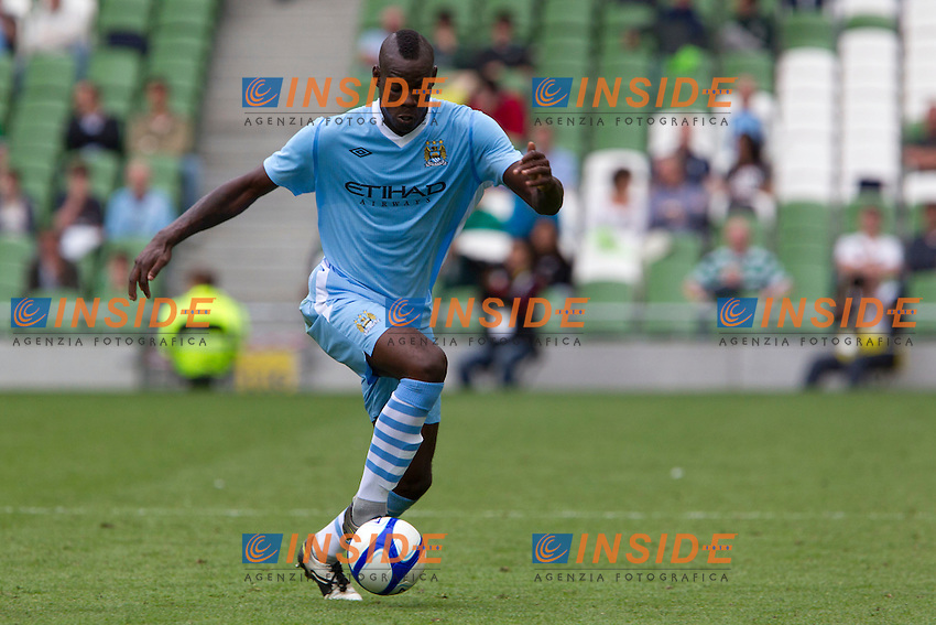 Dublin, Ireland 31/07/2011..Calcio Football Dublin Super Cup tournament..Mario Balotelli durante la partita Inter - Manchester City..Foto Paolo Nucci Insidefoto