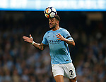 Kyle Walker of Manchester City during the Premier League match at the Eithad Stadium, Manchester. Picture date 21st August 2017. Picture credit should read: Simon Bellis/Sportimage