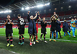 Leverksen's Kevin Kampl celebrates at the final whistle during the Champions League group E match at the Wembley Stadium, London. Picture date November 2nd, 2016 Pic David Klein/Sportimage