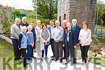 The committee and guests at the opening of the Farranfore Railway Park on Sunday l-r: Fr Tadhg O'Dohertaigh, Sean Linnane, Margaret kelly, Margaret Shanahan,  Dan Ahern, Gobnait O'Mahony, Betty Carey, Mayor John Sheahan, John O'Donoghue, Liam Fell, Catherine Cahill Irish Rail, Jerome Crowley, Eileen O'Donoghue  Killarney Municipal District officer