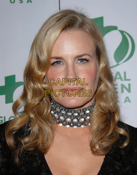 DARYL HANNAH.Attends Global Green USA's Annual Oscar Party held at The Henry Fonda Music Box Theatre in Hollywood, California, USA, March 3rd 2006..portrait headshot necklace choker .Ref: DVS.www.capitalpictures.com.sales@capitalpictures.com.©Debbie Van Story/Capital Pictures