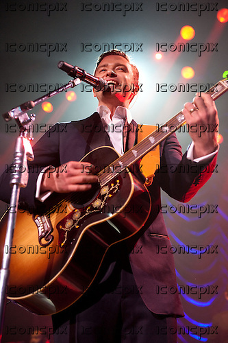 JUSTIN TIMBERLAKE - performing live in a very rare one-off club gig following the 2013 Grammy Awards at The Palladium in Hollywood, CA USA - Feb 10, 2013.  Photo credit: Kevin Estrada/ IconicPix