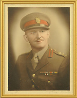 BNPS.co.uk (01202 558833)<br /> Pic: MitchellsAuctionHouse/BNPS<br /> <br /> PICTURED: Colonel Vassal Charles Steer-Webster OBE<br /> <br /> The fascinating archive of one of the engineers who designed the Mulberry Harbours which were installed off the Normandy coast following the D-Day landings has come to light.<br /> <br /> Colonel Vassal Charles Steer-Webster OBE helped create the giant, floating artificial harbours which protected anchored supply ships from German attacks.<br /> <br /> They were built in the dry docks on The Thames and Clyde and pulled across the channel by tugs before being hastily assembled.<br /> <br /> Col Steer-Webster was in almost daily contact with Churchill during their development ahead of June 6, 1944. Now, his personal effects, including a letter of thanks from Winston Churchill, are being sold by his nephew with Mitchells Auctioneers, of Cockermouth, Cumbria. <br /> <br /> The archive, which is expected to fetch £15,000, also features 150 photos showing Mulberry B's construction and use, as well as his medals.
