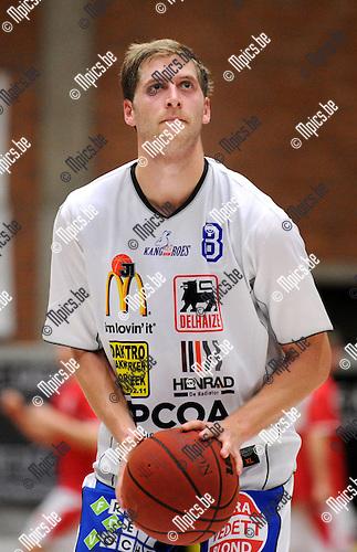11-11-05 / Basketbal / seizoen 2011-2012 / Kangoeroes Boom / Thomas Foucart..Foto: Mpics