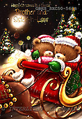 John, CHRISTMAS ANIMALS, paintings, GBHSSXC50-561B,#xa# Weihnachten, Navidad, illustrations, pinturas