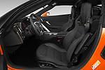 Front seat view of a 2019 Chevrolet Corvette ZR1 3 Door Targa front seat car photos