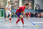 Mannheim, Germany, January 08: During the 1. Bundesliga men indoor hockey match between TSV Mannheim and Mannheimer HC on January 8, 2020 at Primus-Valor Arena in Mannheim, Germany. Final score 5-4. (Photo by Dirk Markgraf / www.265-images.com) *** Timm Haase #27 of Mannheimer HC